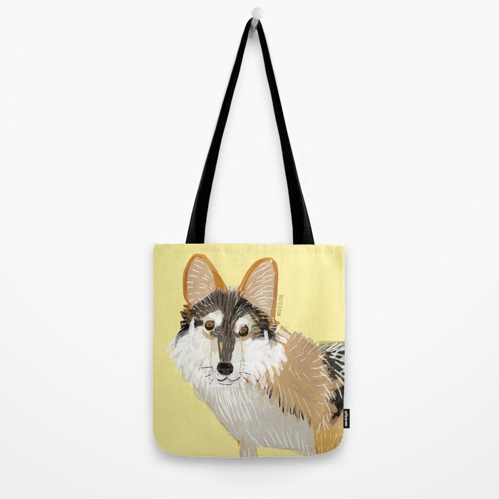 Totem Mexican Wolf Tote Bag