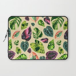 People's Plants Pattern Laptop Sleeve