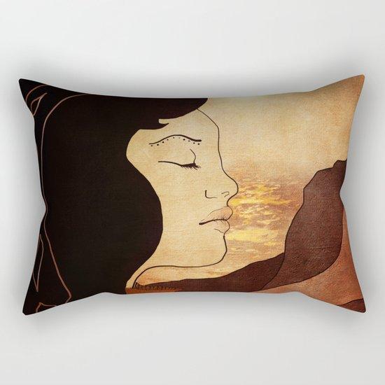 Song of December Rectangular Pillow