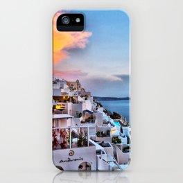 Santorini 8 iPhone Case