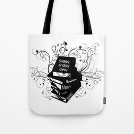 Mad About Books Tote Bag