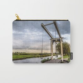 Canal and Bridge in Netherlands at Sunset Carry-All Pouch