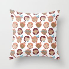 Pattern Project #22 / Girl Gang Throw Pillow