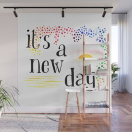 A new day Wall Mural