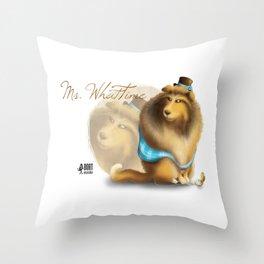 Ms. WhatTime Throw Pillow