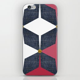 KALEIDOSCOPE 01 #HARLEQUIN iPhone Skin