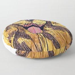 Happy otter Floor Pillow