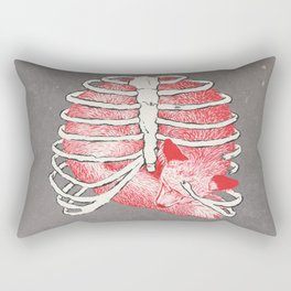 Weary Bones Rectangular Pillow
