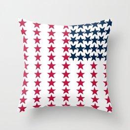 UStars Throw Pillow