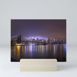 Bright Lights Of New York II Mini Art Print