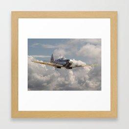 Spitfire - Portrait of an Icon Framed Art Print
