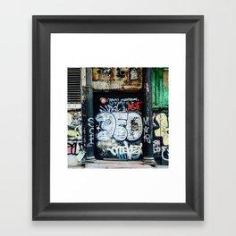 Graffiti NYC Framed Art Print