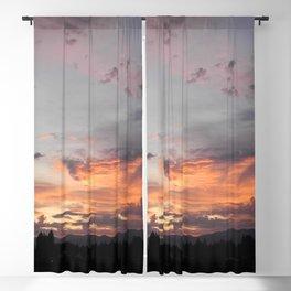 Tie Dye Sunrise Blackout Curtain