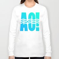 river Long Sleeve T-shirts featuring RIVER! by Gold Lining