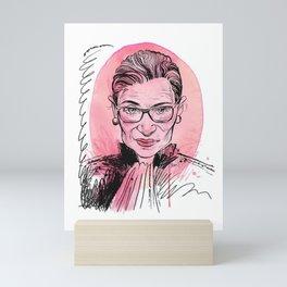 RGB rip Mini Art Print