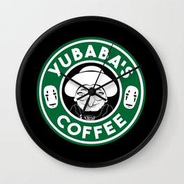 Yubaba's Coffee Wall Clock