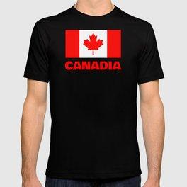 Canadia - Canadan Flag T-shirt