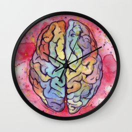 brain stuff Wall Clock