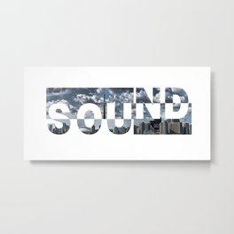 Toronto Sound Metal Print