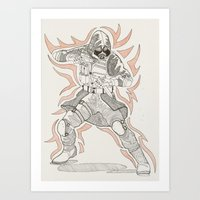 vector Art Prints featuring Vector by Dukewow Nukemwow