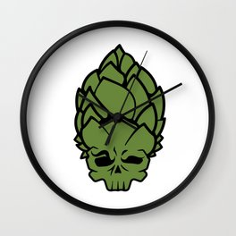 Hop Head Wall Clock