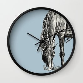 Grazing Wall Clock