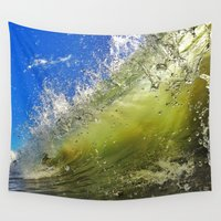 surf Wall Tapestries featuring Surf by Nicklas Gustafsson