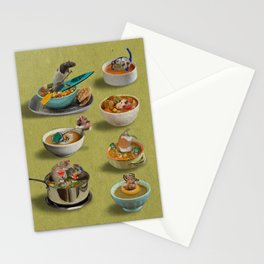 Rodant Vacation Stationery Cards