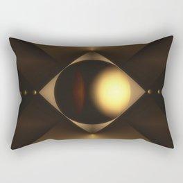 Tension and Duress Rectangular Pillow