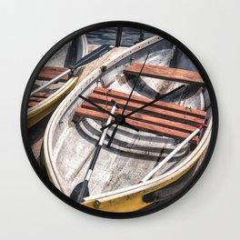 Small boat Wall Clock