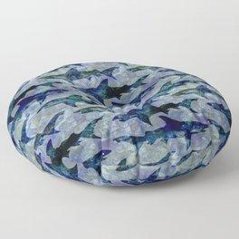 Deep Water Sharks Floor Pillow
