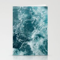 sea Stationery Cards featuring Sea by Vickn