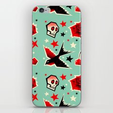 Swallow the cherry iPhone & iPod Skin