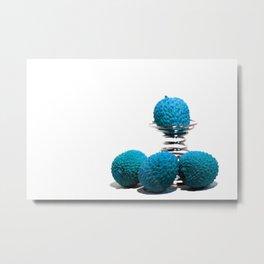 Blue lychee Metal Print