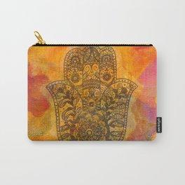 Sunrise Hamsa Carry-All Pouch
