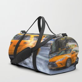 New York Taxis Duffle Bag