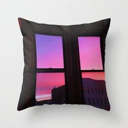 Brooklyn Sunrise - Throw Pillow