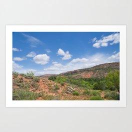 Texas Canyon 2 Art Print