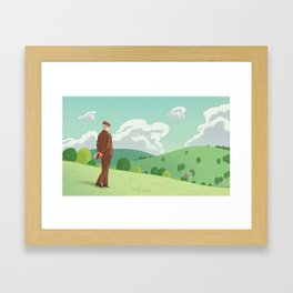 When Higher Education Valued Discovery Framed Art Print