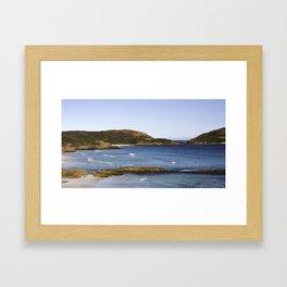 Lucky Bay Framed Art Print