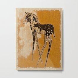 Tira Metal Print