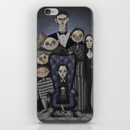 The Addams Family iPhone Skin