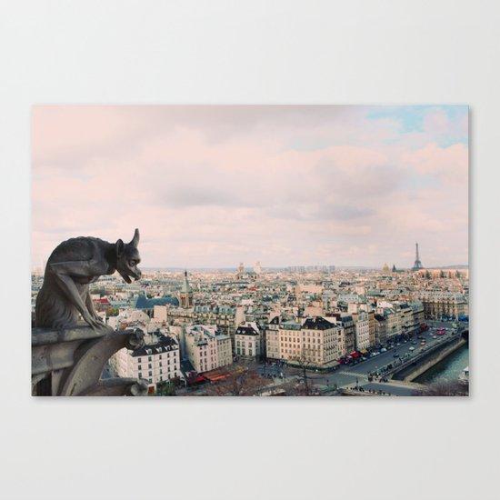 Pastel Daydreams Canvas Print