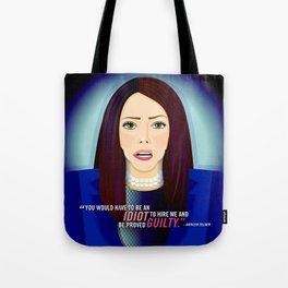 Kathleen Zellner Tote Bag