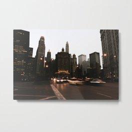 Headlights Metal Print