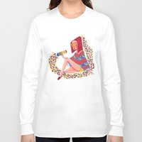 kaleidoscope Long Sleeve T-shirts featuring Kaleidoscope by Hannah Lee Stockdale