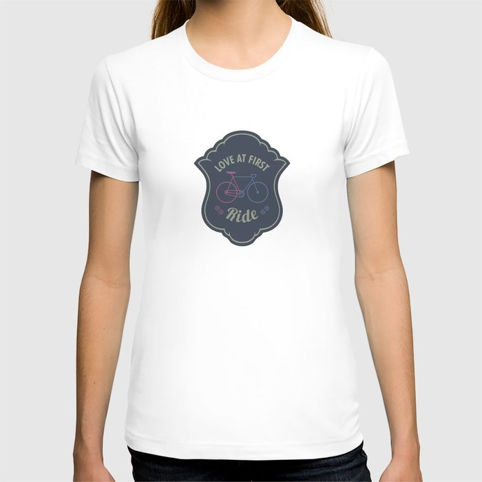 Love At First Ride Bike T-shirt