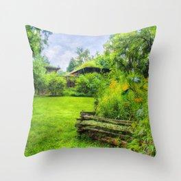 Bernheim Forest Visitor Center Throw Pillow