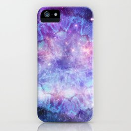 Purple Galaxy - Psychedelic Summer Series by iDeal iPhone Case