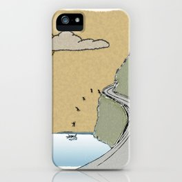 I Meant to Take the High Road iPhone Case